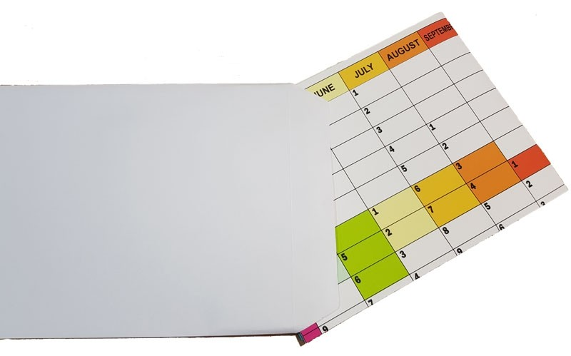 Plain Paper Wall Planners
